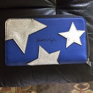 Kendall & Kylie blue wallet